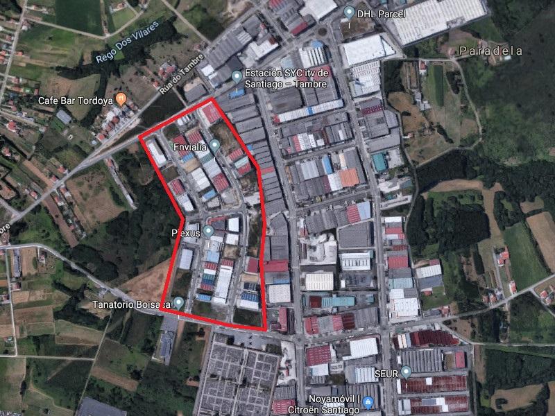 Polígono Industrial de Boisaca, Santiago de Compostela, A Coruña