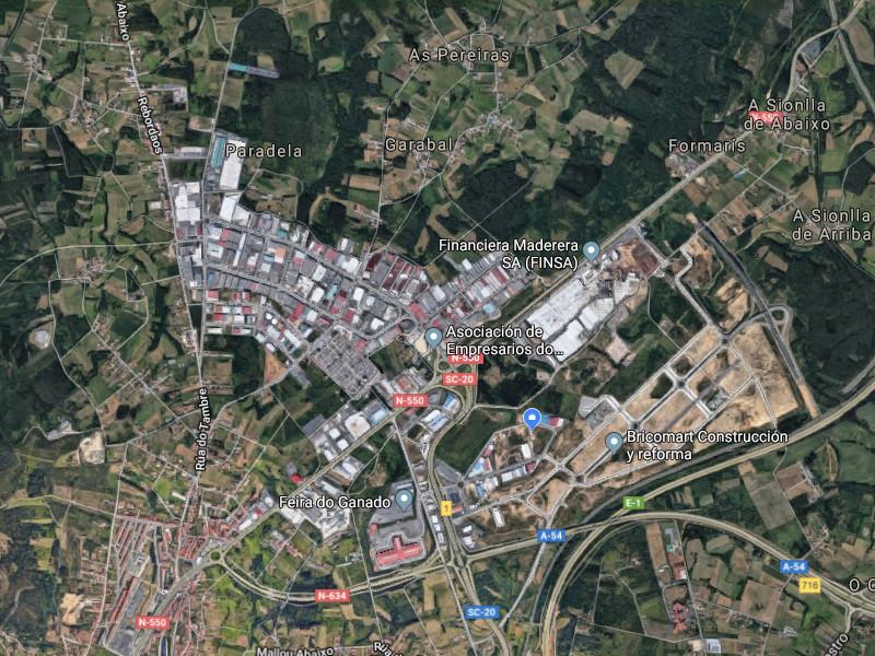 Polígono Industrial de Tambre, Santiago de Compostela, A Coruña