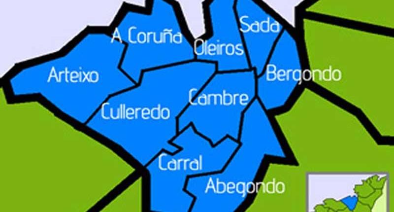 La comarca de A Coruña se confirma como la más pujante de la Comunidad gallega