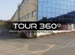 Tour 360 de nave industrial en Padrón